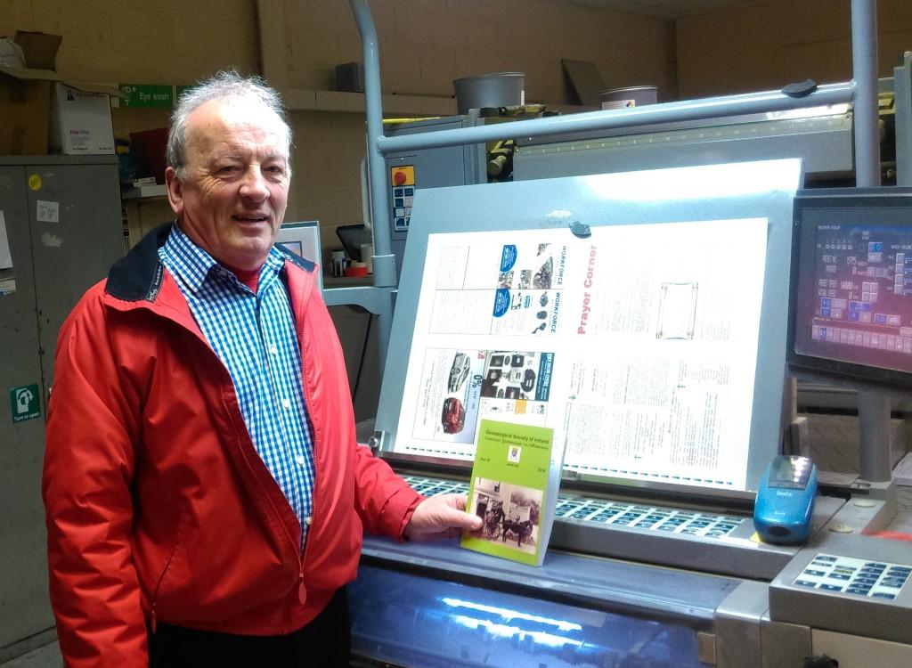Printing machine & Journal2018