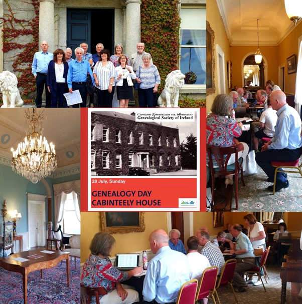 Genealogy Day Cabinteely House 28 July 2019